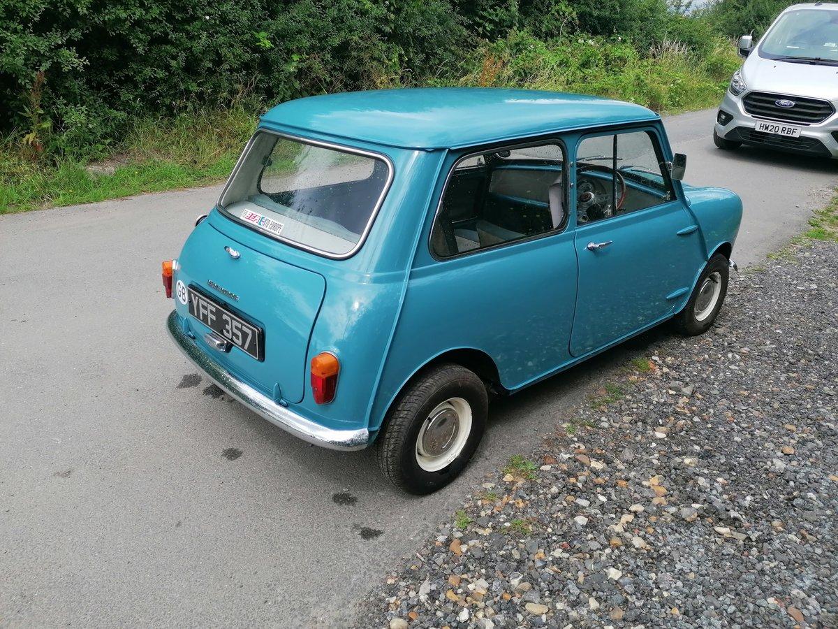 1961 morris mini minor 1000 mk1  For Sale (picture 3 of 6)