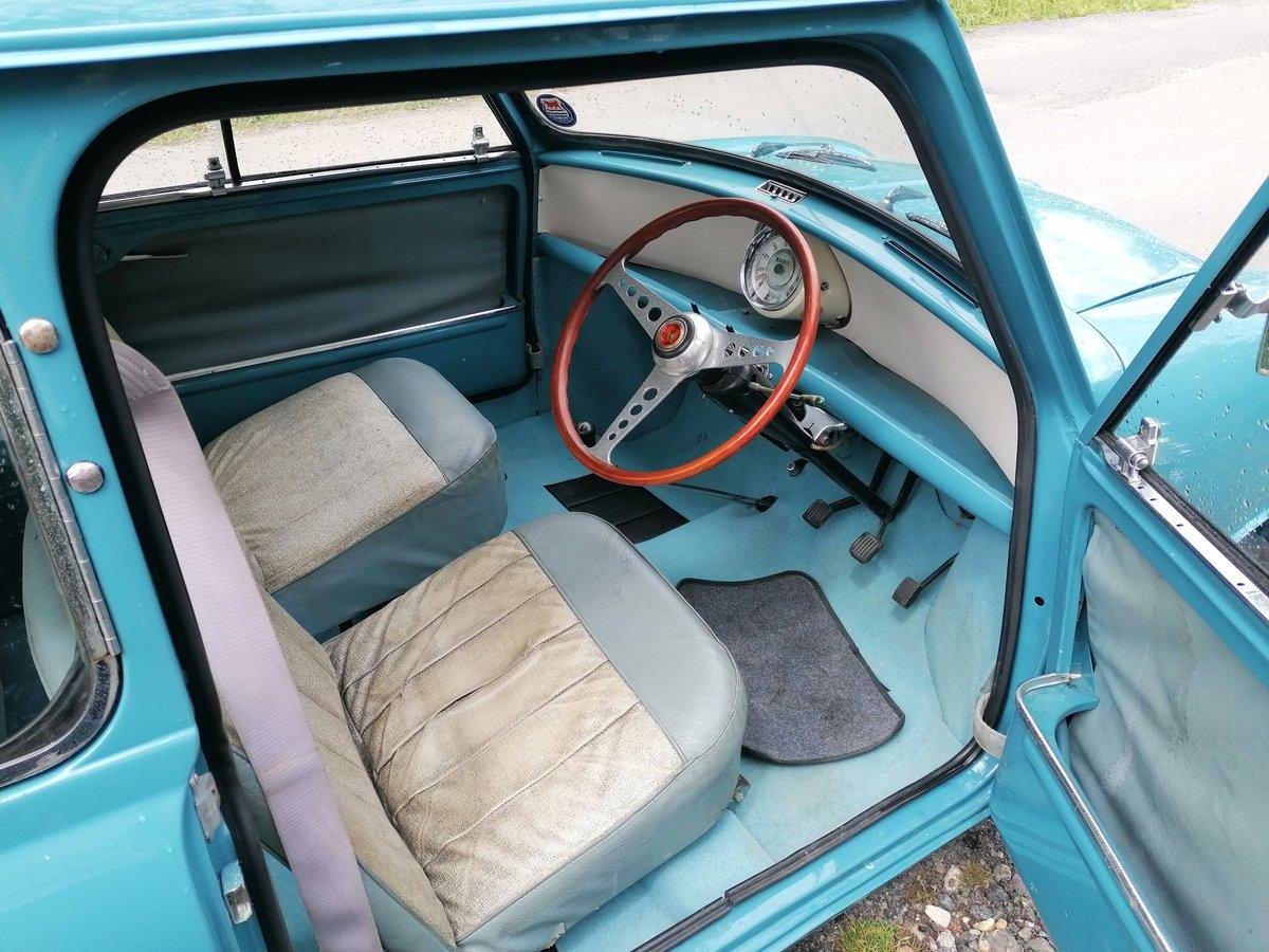 1961 morris mini minor 1000 mk1  For Sale (picture 5 of 6)