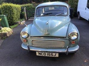 Lot 71 - A 1970 Morris Minor 1000 - 23/09/2020