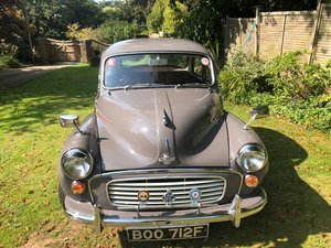 Picture of A 1968 Morris Minor 1000 - 11/11/2020 SOLD by Auction