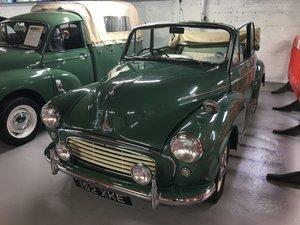 1963 Morris Minor Factory Convertible