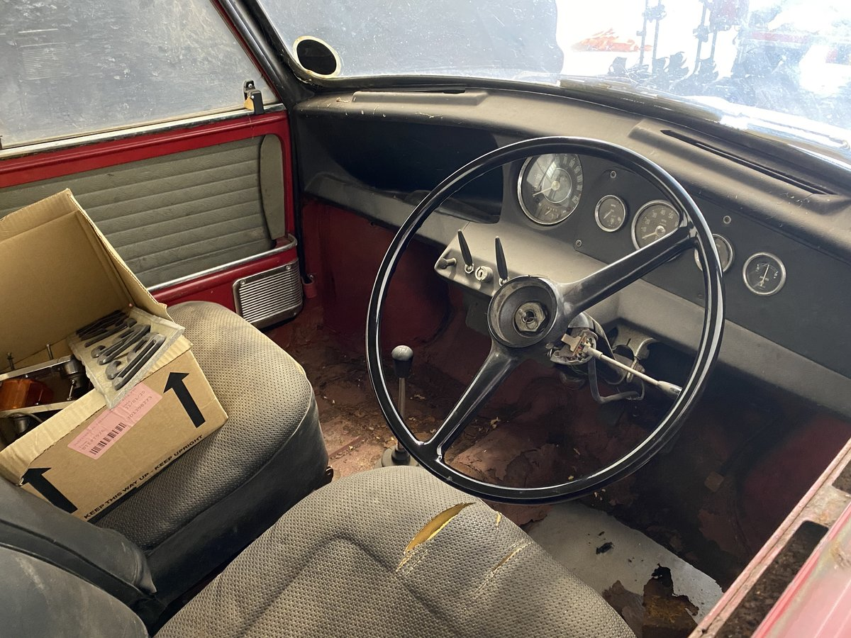 1966 Morris Mini Cooper S 1275 (Barn Find) For Sale (picture 3 of 6)