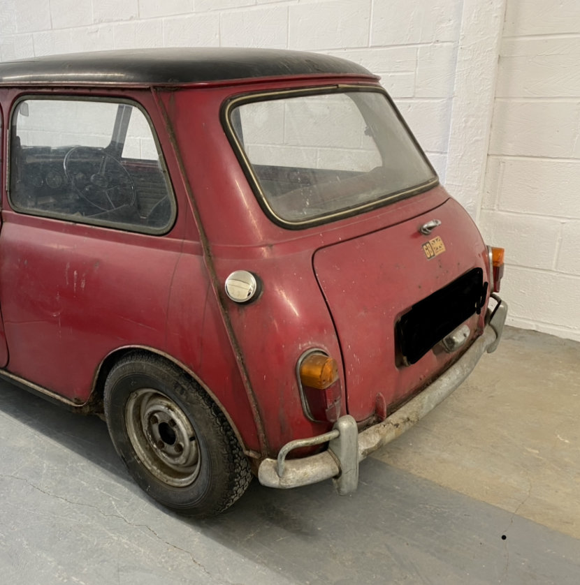 1966 Morris Mini Cooper S 1275 (Barn Find) For Sale (picture 6 of 6)