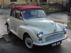 1959 Eye Catching Morris Minor Convertible