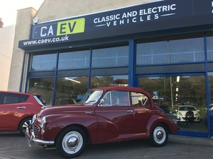 1967 Morris Minor Convertible 100% Electric For Sale