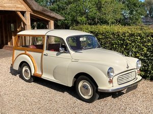 Morris Minor Traveller LHD 1968