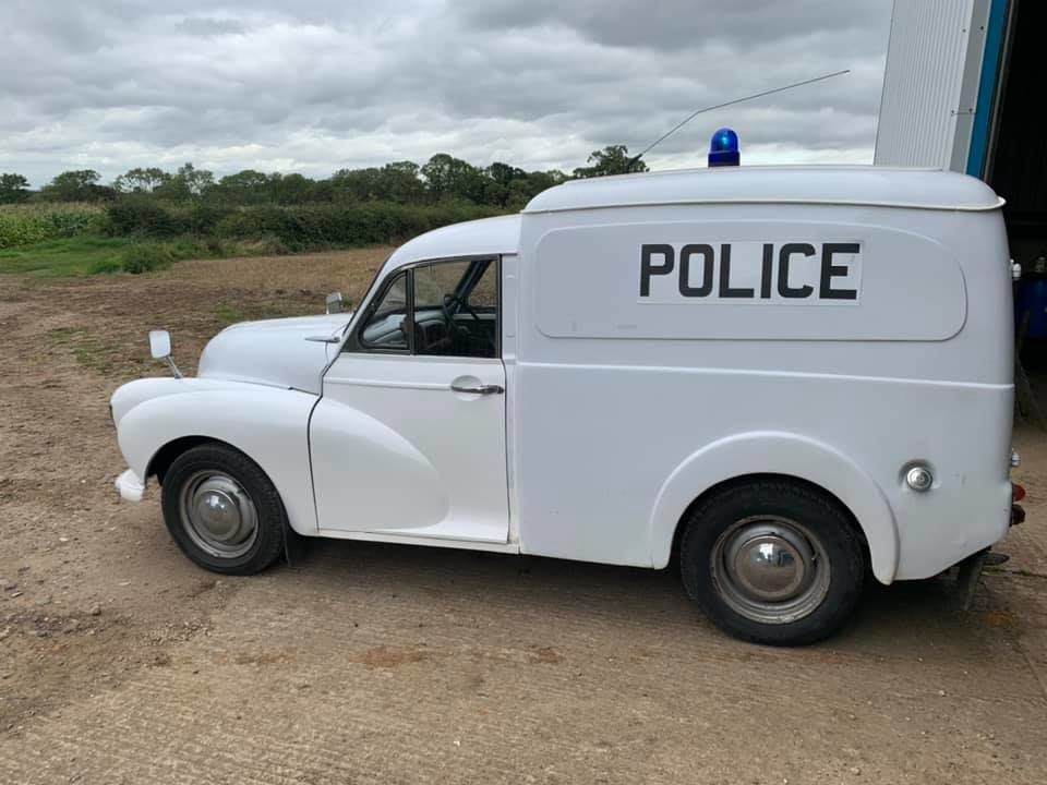 1971 Ex-Police Morris Minor Van 1275cc . Very rare For Sale (picture 1 of 6)