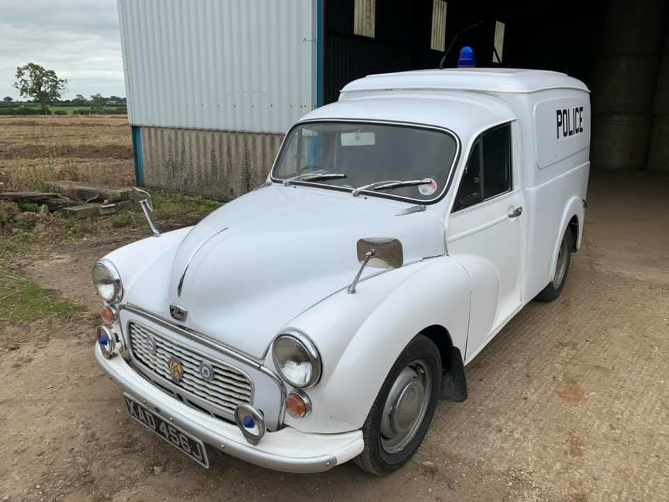 1971 Ex-Police Morris Minor Van 1275cc . Very rare For Sale (picture 2 of 6)