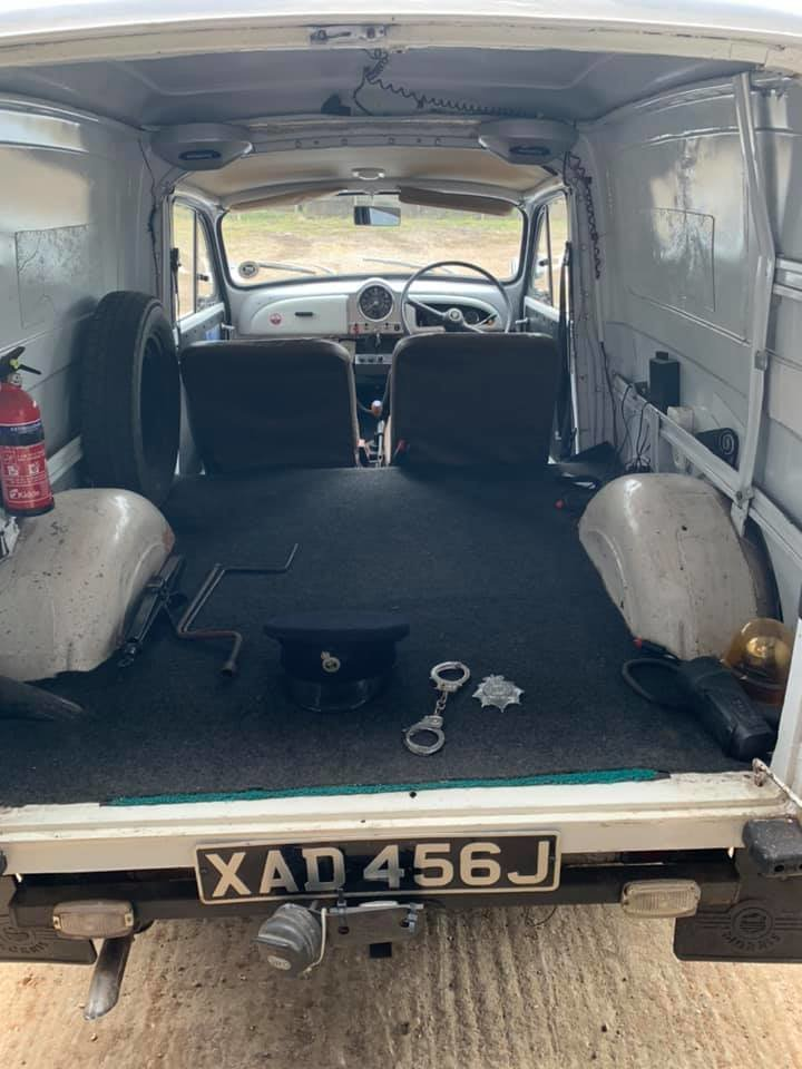 1971 Ex-Police Morris Minor Van 1275cc . Very rare For Sale (picture 3 of 6)