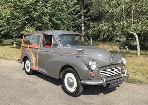 Morris Minor 1000 Traveller - Stunning Restored Rose Taupe!