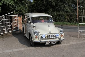 Morris Minor Traveller, Over 5k in expenditure, Very Usable