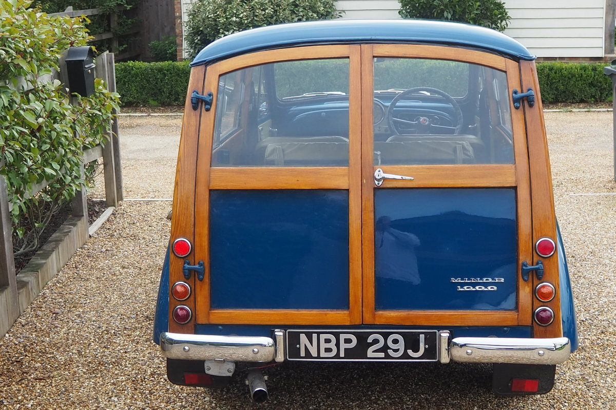 1971 MORRIS TRAVELLER For Sale (picture 4 of 6)