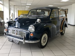 1968 MORRIS MINOR TRAVELLER 1098CC For Sale