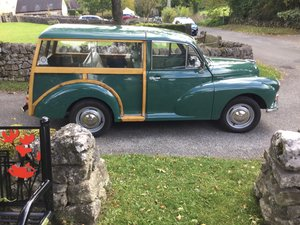 1968 An All Round Solid, Reliable Minor Traveller For Sale
