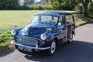 Morris Minor Traveller 1967 - To be auctioned 30-10-20