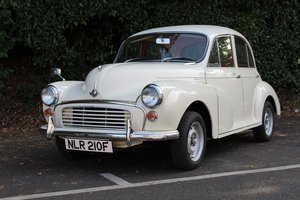 Morris Minor 1000 1967 - To be auctioned 30-10-20