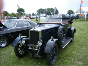1927 Morris Cowley two seater with dickey