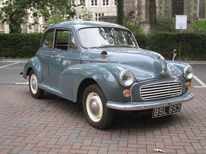Picture of 1957 Low Mileage Morris Minor Series 3 Exceptional. 12 months MOT