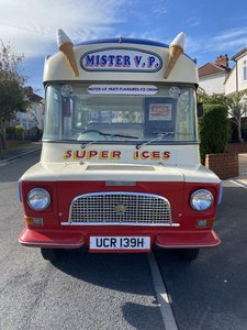 Bedford Ice cream van