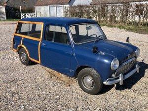 """Picture of 1966 Morris Mini Traveller MK1 """"Woody""""."""