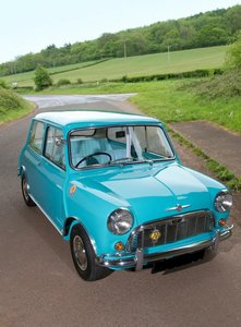 Picture of 1960 MK1 Morris Mini Super Deluxe, 850cc, Surf Blue