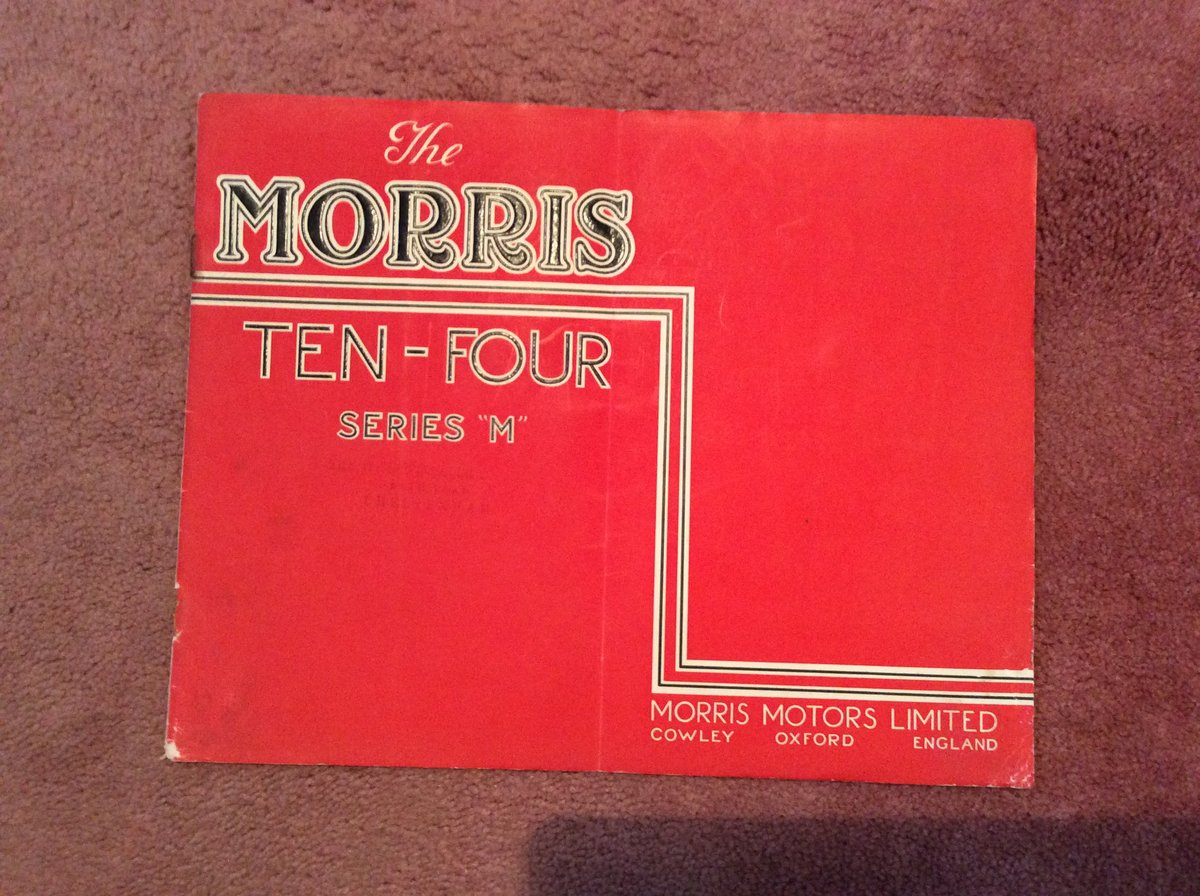 Morris SALES BROCHURE For Sale (picture 1 of 2)