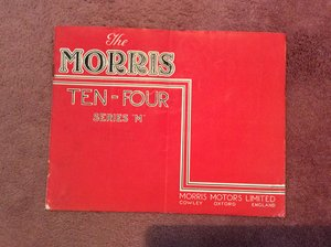 Picture of Morris SALES BROCHURE