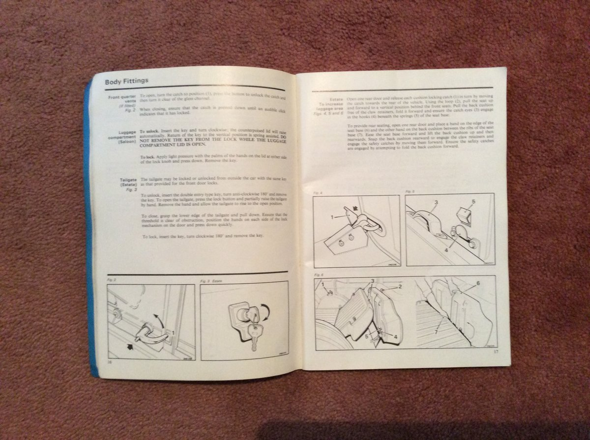 Morris Marina Handbook 1.3/1.8 For Sale (picture 4 of 5)