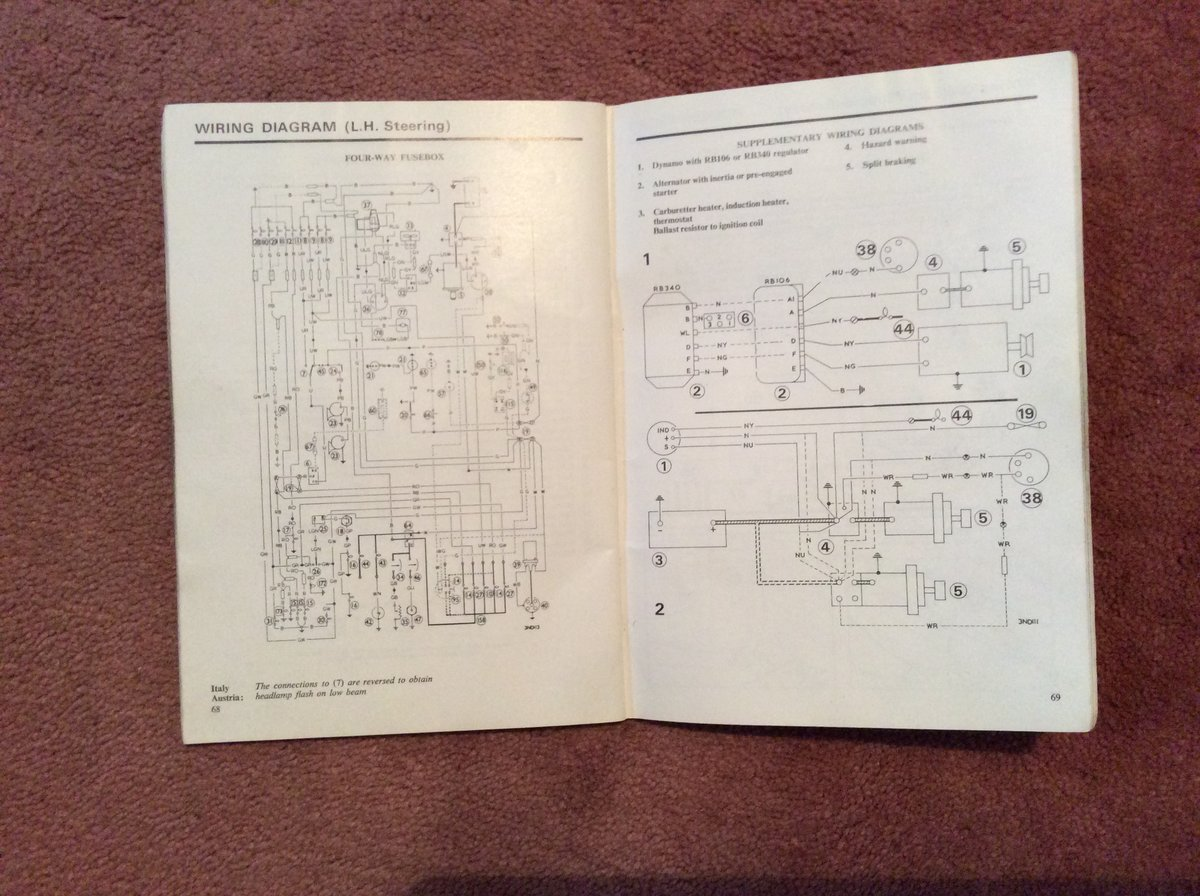 Morris Marina Handbook 1.3/1.8 For Sale (picture 5 of 5)