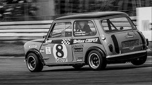 Morris Mini FIA Racecar.