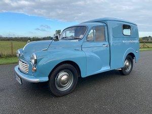 Picture of 1969 Morris Minor 1/4 Ton Van in Blue SOLD