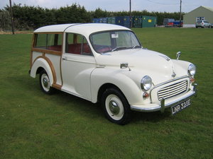 Picture of 1967 MORRIS MINOR TRAVELLER. 2 OWNERS FROM NEW SOLD