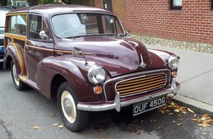 Picture of 1969 MORRIS MINOR TRAVELLER For Sale by Auction
