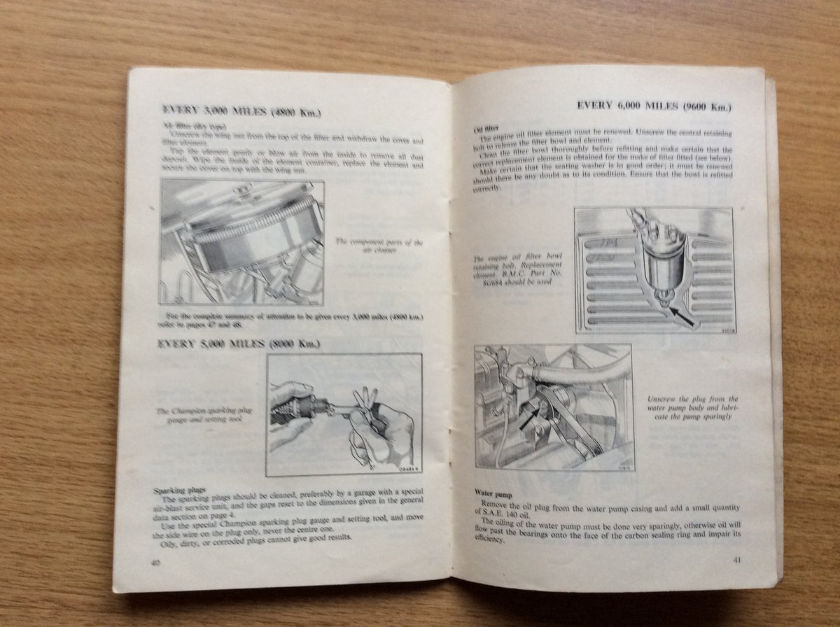 DRIVERS HANDBOOK FOR EARLY MINI For Sale (picture 3 of 3)