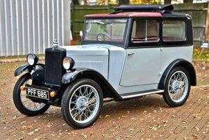 1931 Morris Minor folding head coupe.