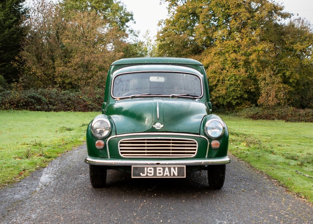 1967 Morris 6cwt Van For Sale by Auction (picture 1 of 6)