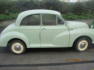 morris minor 1000 with nice transferable reg.