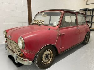 Picture of 1966 Morris Mini Cooper 1275 S Mk1 Sports Saloon Project For Sale by Auction
