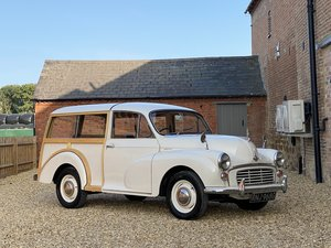 Picture of 1968 Morris Minor Traveller. New Wooden Frame SOLD