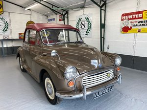 Picture of 1970 Morris Minor convertible 1971 SOLD