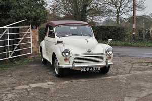 Morris Minor Convertible, Reconditioned Engine, Full Repaint