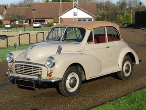 Picture of 1956 Morris Minor Convertible at ACA 13th and 14th February For Sale by Auction