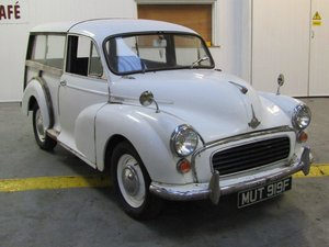Picture of 1968 Morris Minor Traveller at ACA 13th and 14th February For Sale by Auction