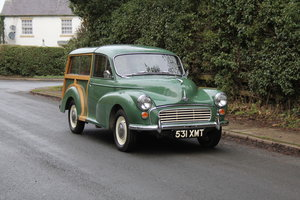 Morris Minor Traveller De-Luxe, Exceptional History
