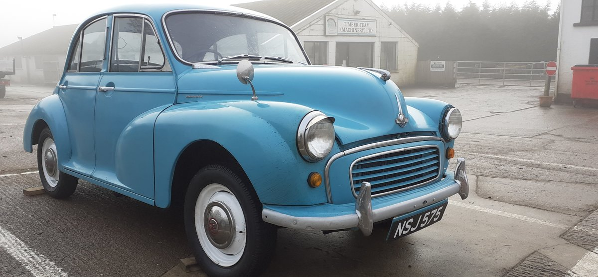 1959 MORRIS MINOR ~ SOLID CAR ~ EASY PROJECT! REG NSJ 575 For Sale (picture 1 of 12)
