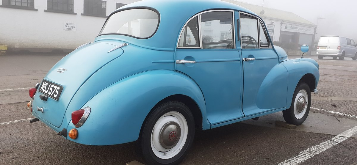 1959 MORRIS MINOR ~ SOLID CAR ~ EASY PROJECT! REG NSJ 575 For Sale (picture 2 of 12)