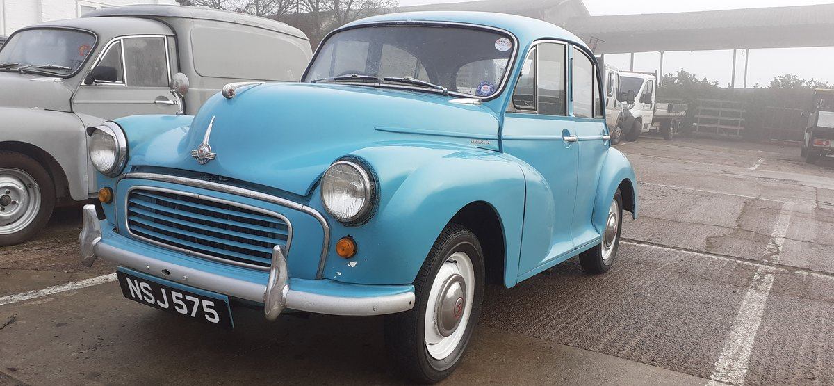 1959 MORRIS MINOR ~ SOLID CAR ~ EASY PROJECT! REG NSJ 575 For Sale (picture 3 of 12)