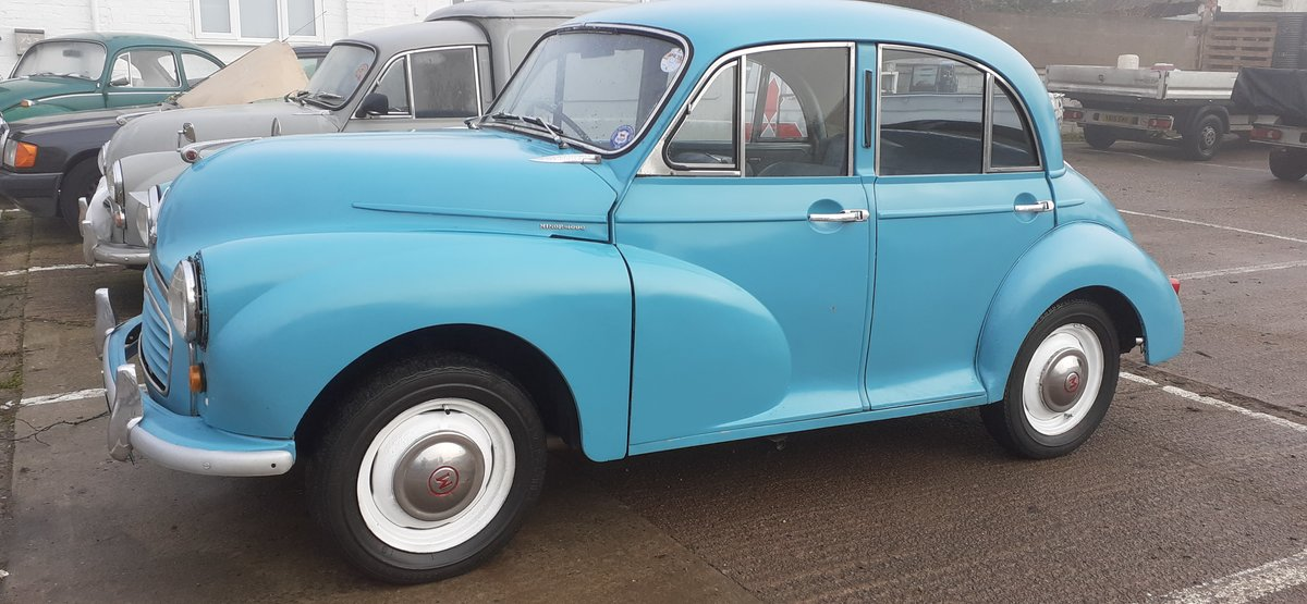 1959 MORRIS MINOR ~ SOLID CAR ~ EASY PROJECT! REG NSJ 575 For Sale (picture 4 of 12)