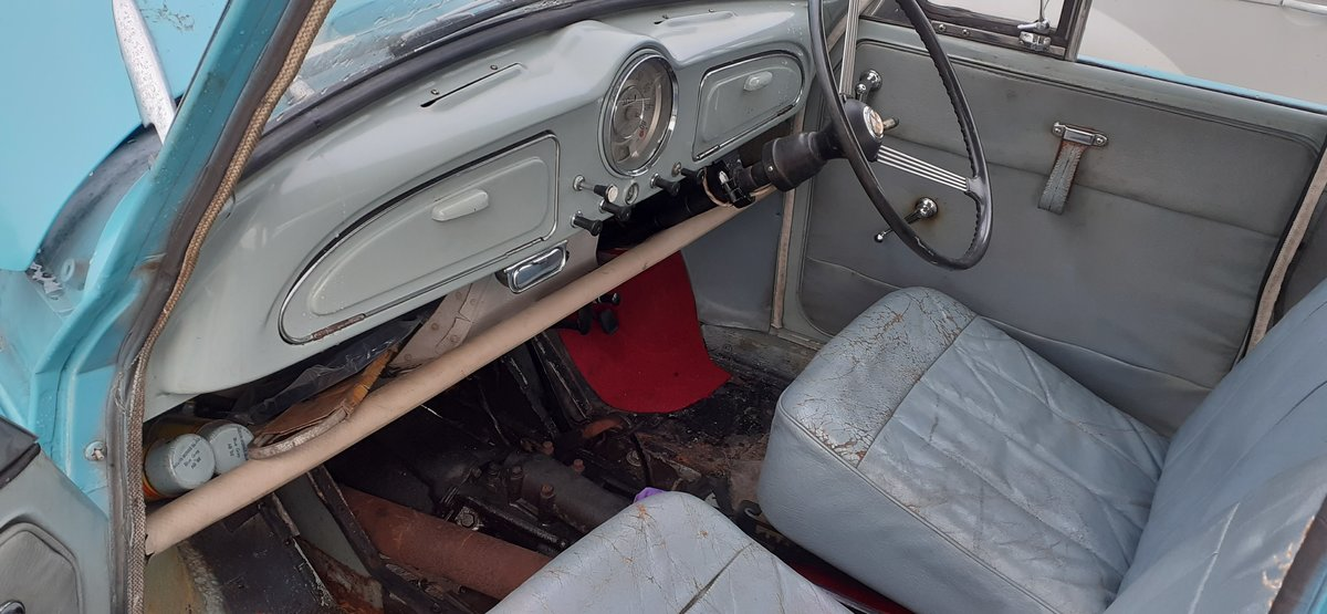 1959 MORRIS MINOR ~ SOLID CAR ~ EASY PROJECT! REG NSJ 575 For Sale (picture 6 of 12)