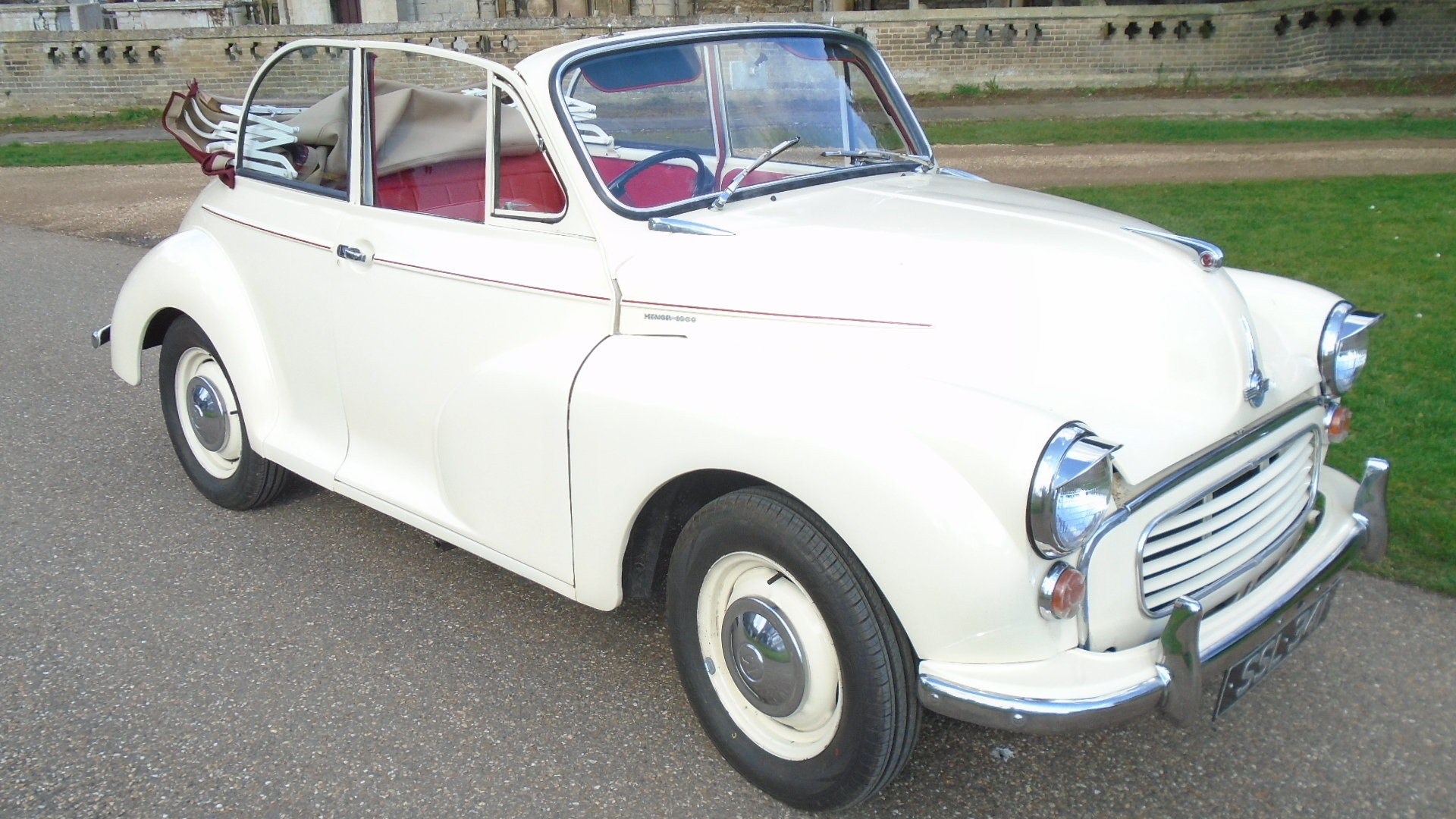 1962 Morris Minor Convertible, Genuine Tourer. For Sale (picture 1 of 10)